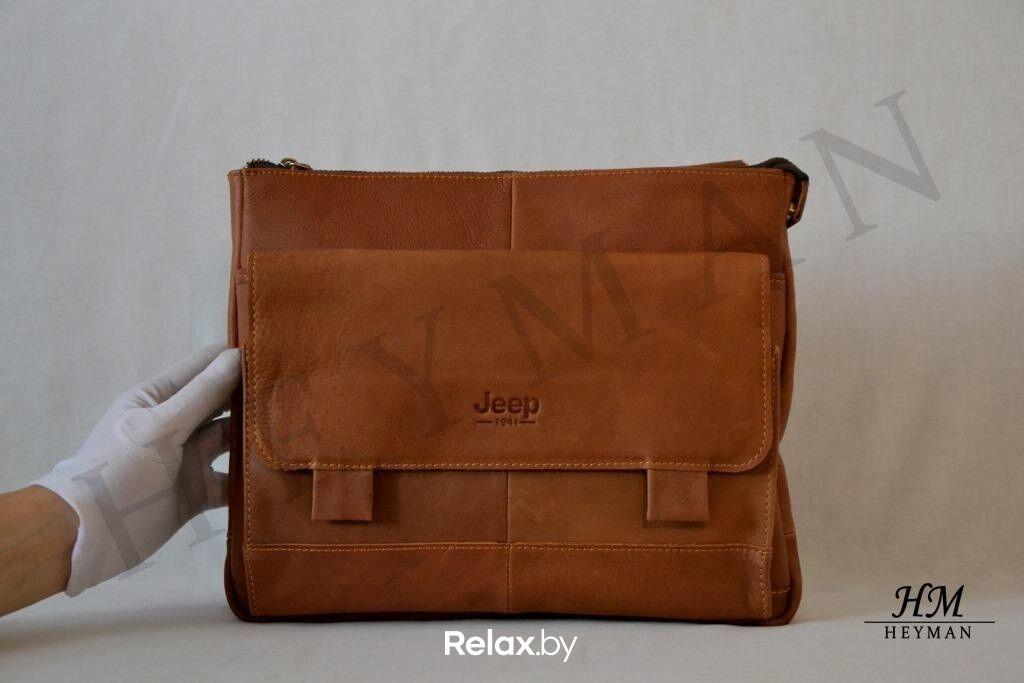 8e76786a5f67 Магазин сумок Jeep Мужская кожаная сумка 1941/201406-02 - фото 1 ...