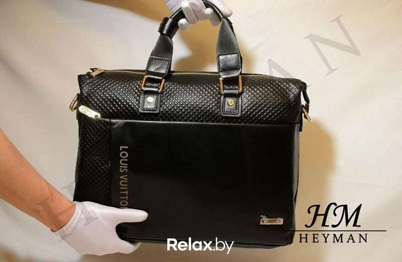 feb05a70ecf9 ... 1 Магазин сумок Louis Vuitton Мужская фирменная сумка 03102013-32 -  фото 2 ...