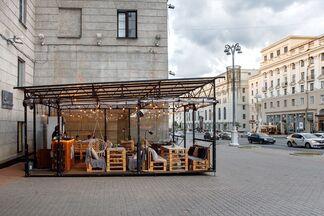 У кальянной «Мята Lounge Center» открылась летняя терраса с видом на проспект